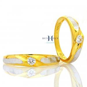 Nhẫn cưới vàng 10K