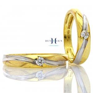Nhẫn cưới vàng Ý