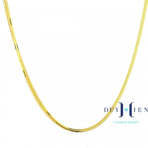 dây chuyền vàng tây nữ giá rẻ loại dây chuyền vàng nữ tròn trơn dây máy