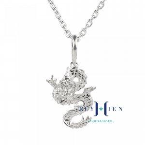 Ý nghĩa thực sự của mặt dây chuyền bạc nam hình Rồng